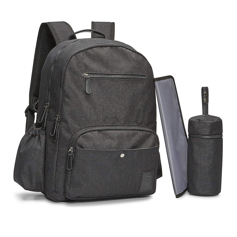 309033eef693 Amazon.com   Bambalino Elemento Luxury Diaper Backpack