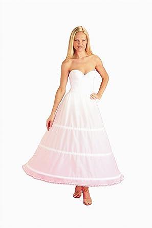 New 3 Bone Hoop Skirt Bridal Taffeta Bridal Petticoat Wedding Gown Slip (CH130DS)