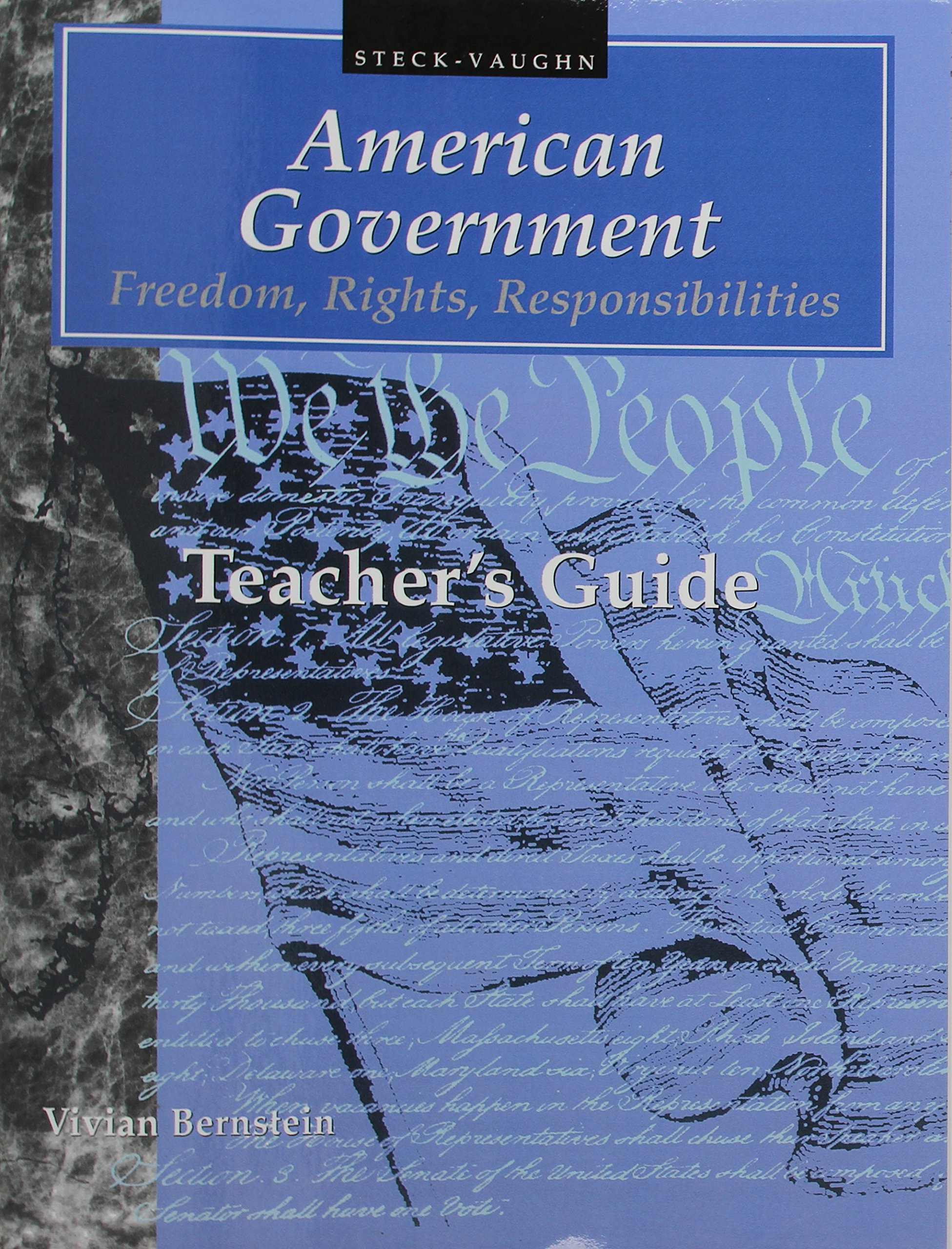 American Government Freedom Responsibilities Teachers product image