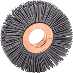 Weiler 31094 Narrow Face Nylox Wheel 1//2-3//8 Arbor Hole 0.40//120SC Crimped Fill 3 Pack of 2