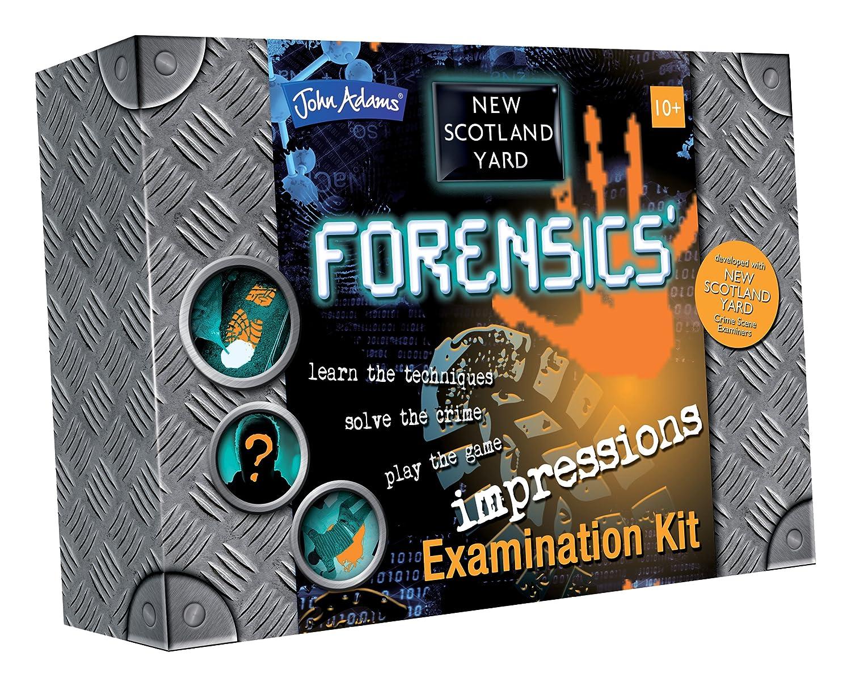 New Scotland Yard Impressions Examination Kit - Juguete de detective (John Adams) (versión en inglés) 9430