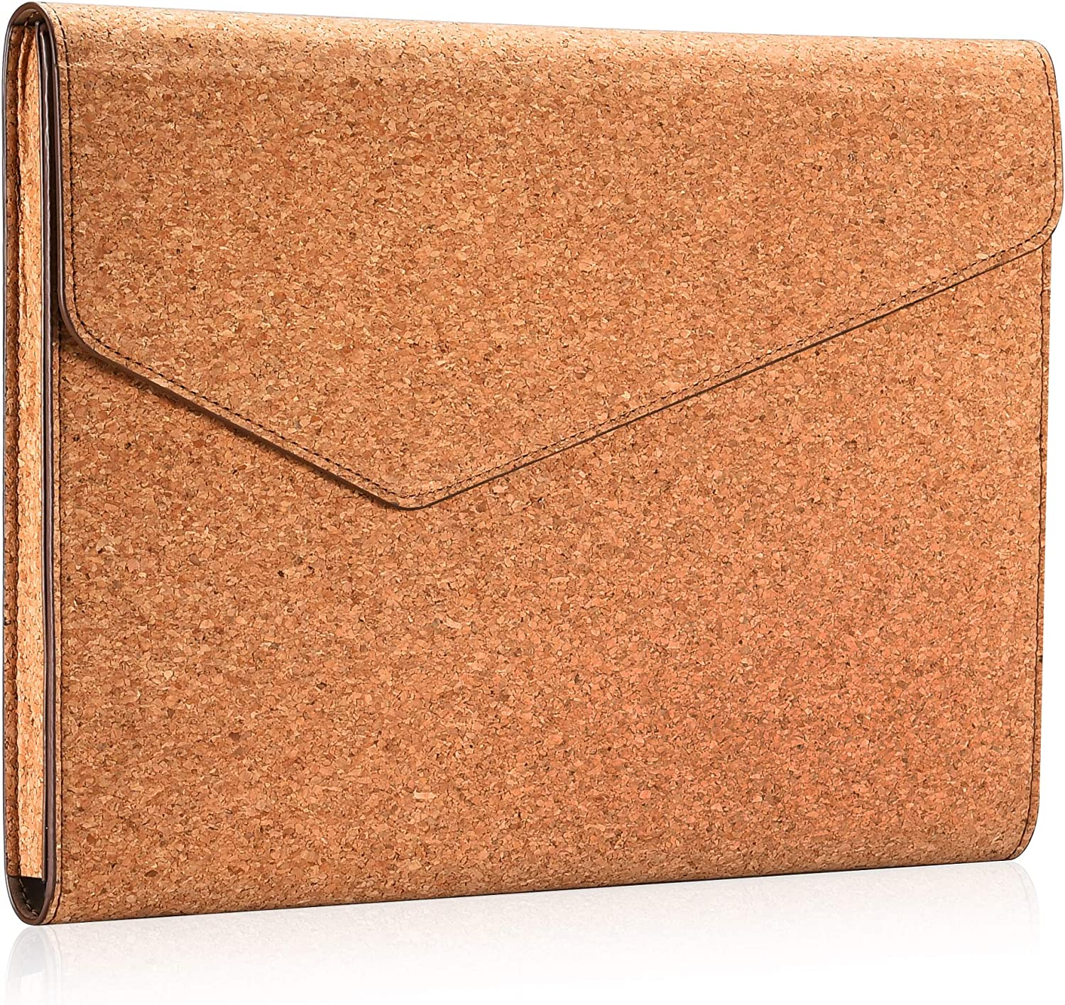 Aothia Eco Cork Laptop Sleeve Case Compatible with New MacBook Air 13-13.3 inch Retina Display A1932,MacBook Pro with USB-C Late 2016-2019,Notebook Computer,Ipad,Leather Envelope Case (Cork)
