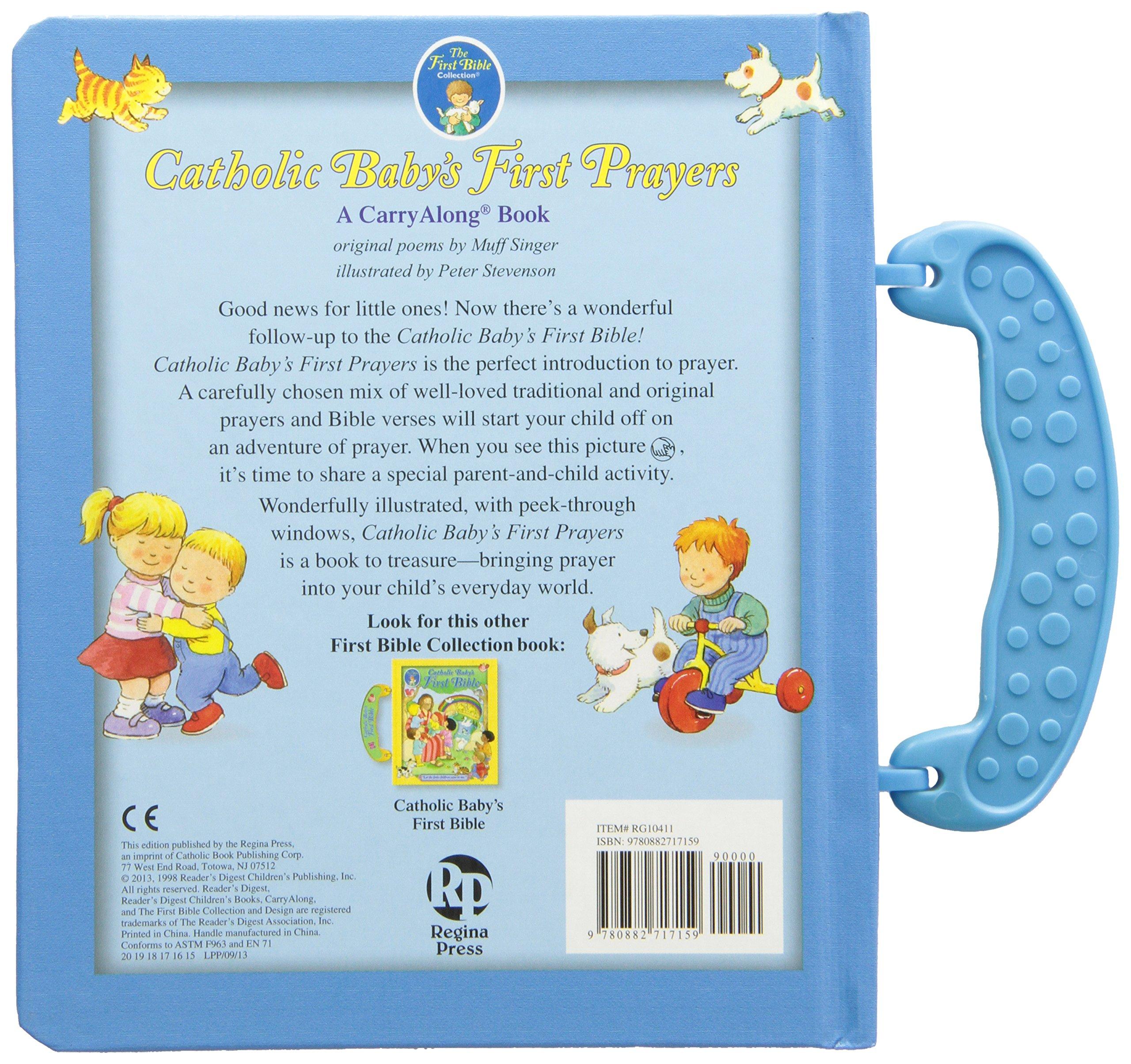 catholic baby u0027s first prayers regina press malhame u0026 company