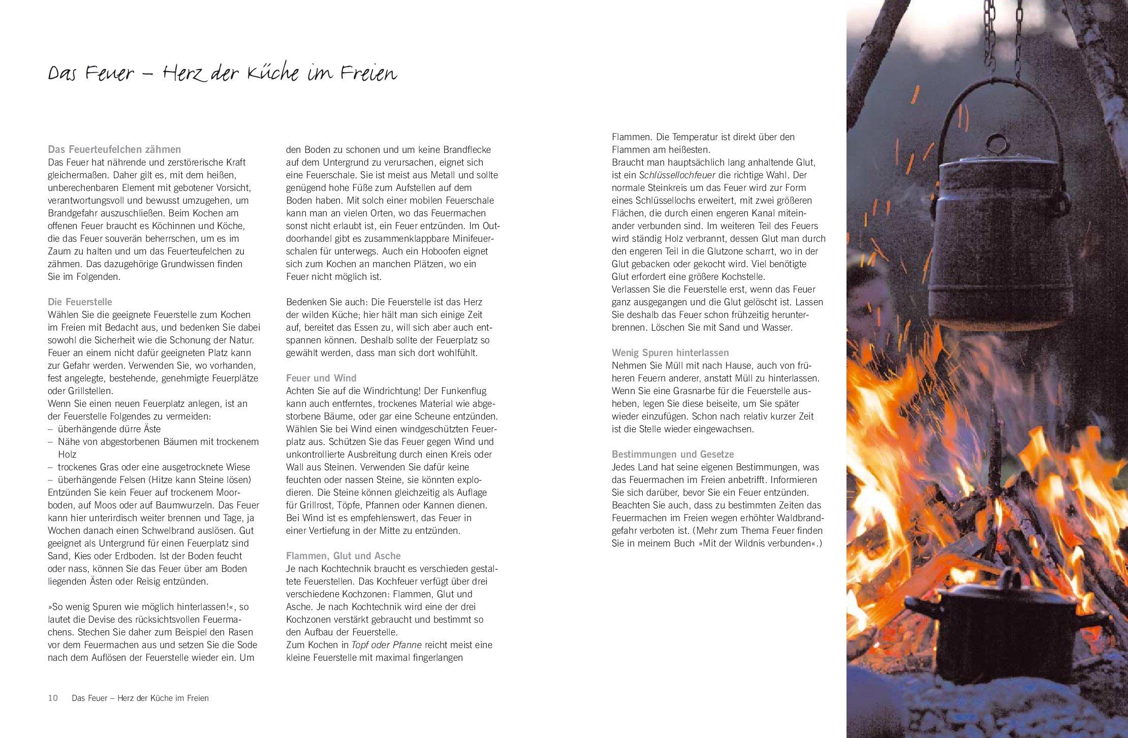Wilde Küche: Das grosse Buch vom Kochen am offenen Feuer: Amazon.de ...