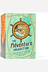 The Adventure Collection: Treasure Island, The Jungle Book, Gulliver's Travels, White Fang, The Merry Adventures of Robin Hood (The Heirloom Collection) Hardcover