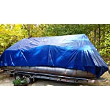 Winter Cover for 22' Pontoon Boat