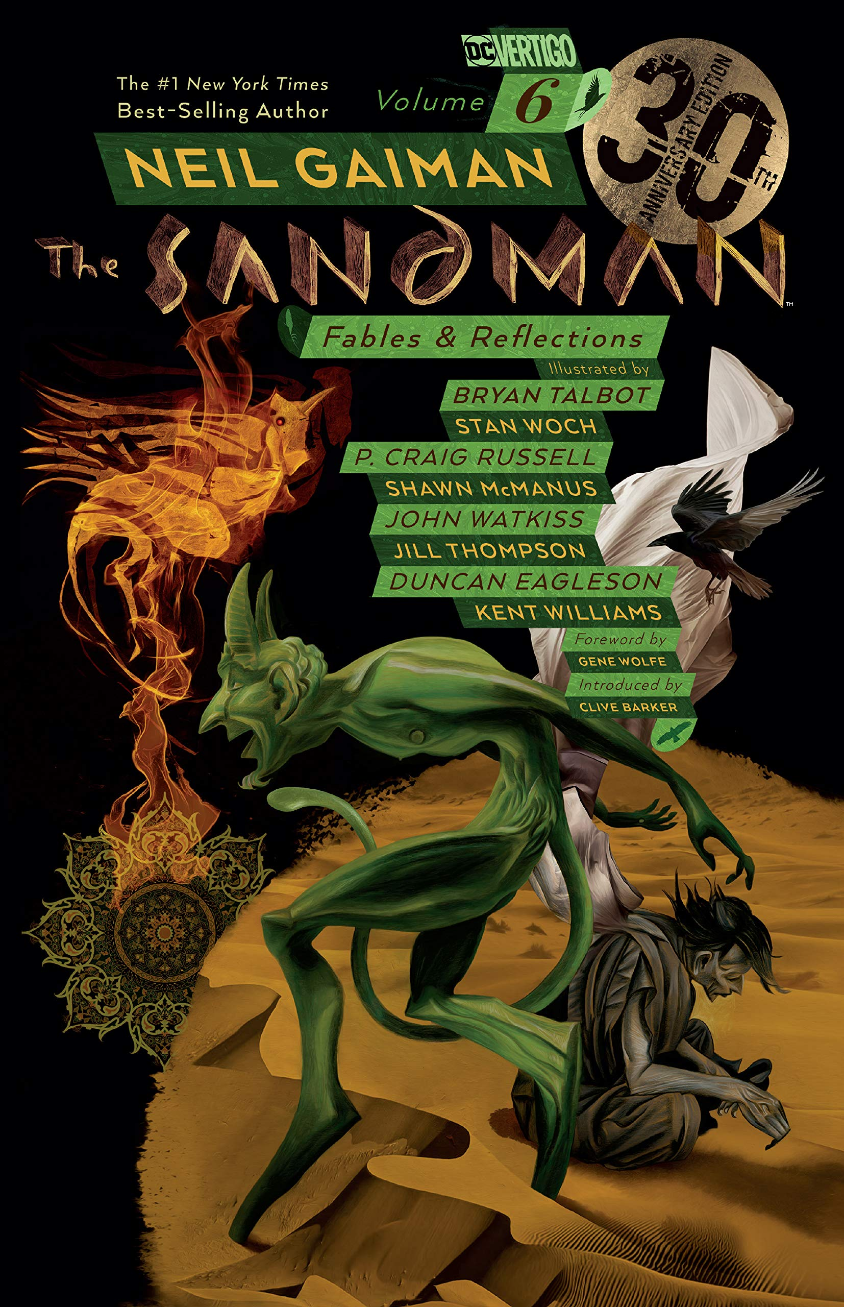 The Sandman, Vol. 6: Fables & Reflections, book cover