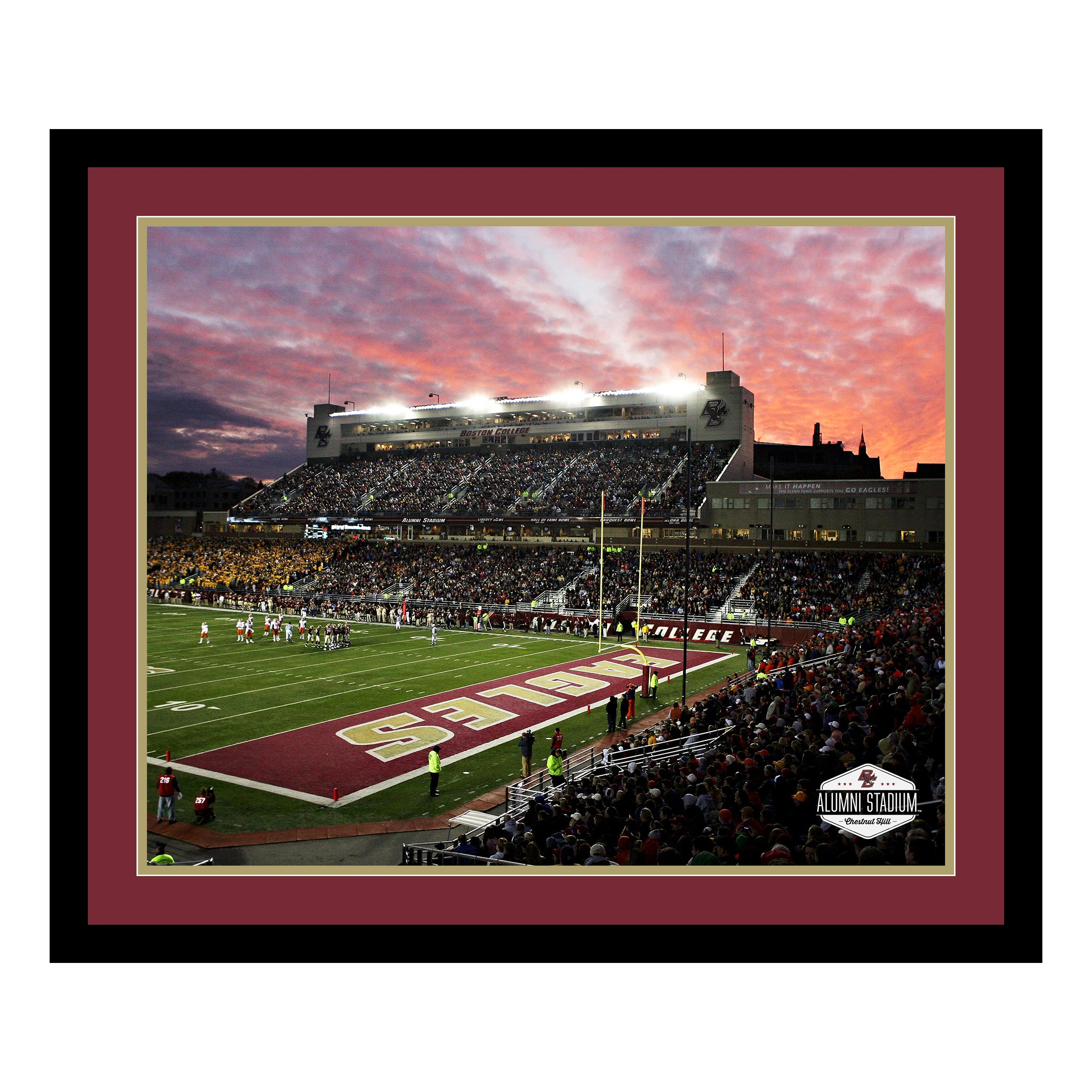 Replay Photos 1340587-1620FD Boston College Stadium Framed Art, 21.5'' x 25.5''