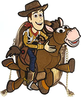 Danielle Nicole Disney Toy Story Woody and Bullseye Designer Cross Body Bag