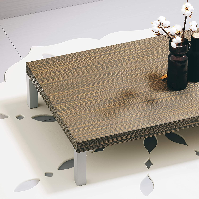 accessoires de montage inclus Forme angulaire: 45 x 45 mm Sossai E4MF-N SossaiExklusiv Couleur et Mati/ère: Aluminium hauteur: 300mm lot de 1 Pieds de meubles