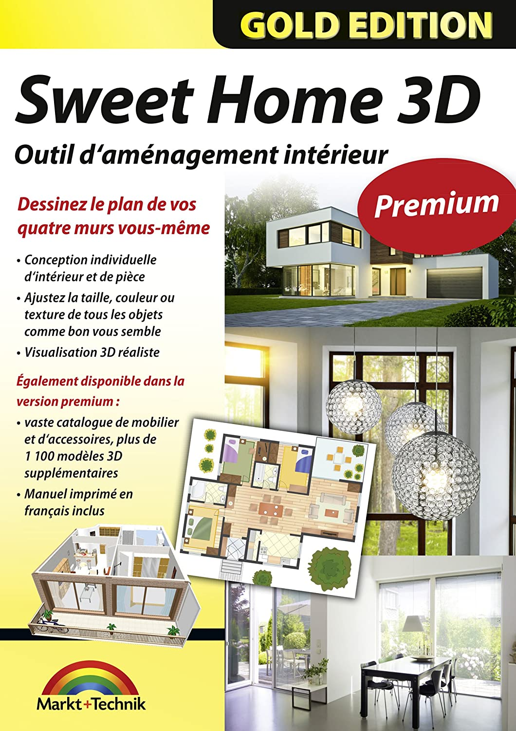 Logiciel architecte 3d professionnel for Modele maison sweet home 3d