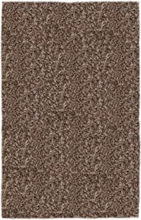 product image for Super Shag Area Rug Shaw Swag Collection Cloud Nine 5 Feet x 7 Feet.