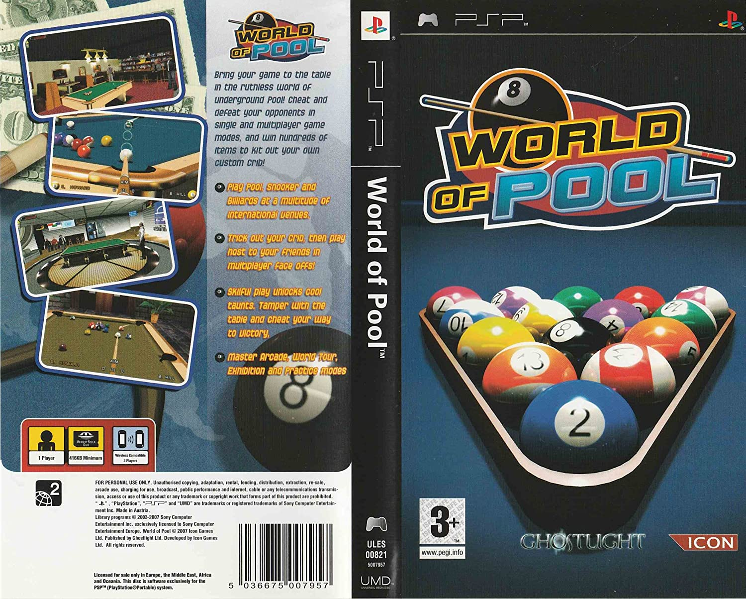 World of Pool: Amazon.es: Videojuegos