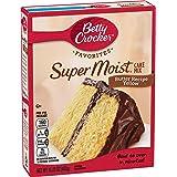 Betty Crocker Super Moist Cake Mix, Butter Yellow, 15.25 oz
