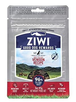 Ziwi Peak Premios para Perro, Sabor Venado - 85 gr: Amazon ...