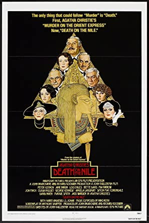 Image result for death on the nile poster amazon