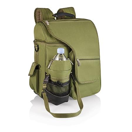 ONIVA - a Picnic Time brand Picnic tiempo turismo con aislamiento enfriador de mochila, negro talla única verde oliva: Amazon.es: Jardín