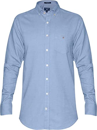 GANT Brushed Oxford Shirt Camisa para Hombre: Amazon.es: Ropa y accesorios