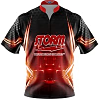 40bf6623 Logo Infusion Bowling Dye-Sublimated Jersey (Sash Collar) - Storm Style  0247 -