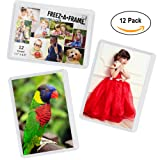 """Amazon Price History for:12 Pack Magnetic Wallet Picture Frames Holds 2 1/2"""" X 3 1/2"""" Pocket Photo for Refrigerator by Freez-A-Frame Made in the USA"""