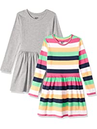 Spotted Zebra Girls  Knit Long-Sleeve Play Dress f8c3cba84