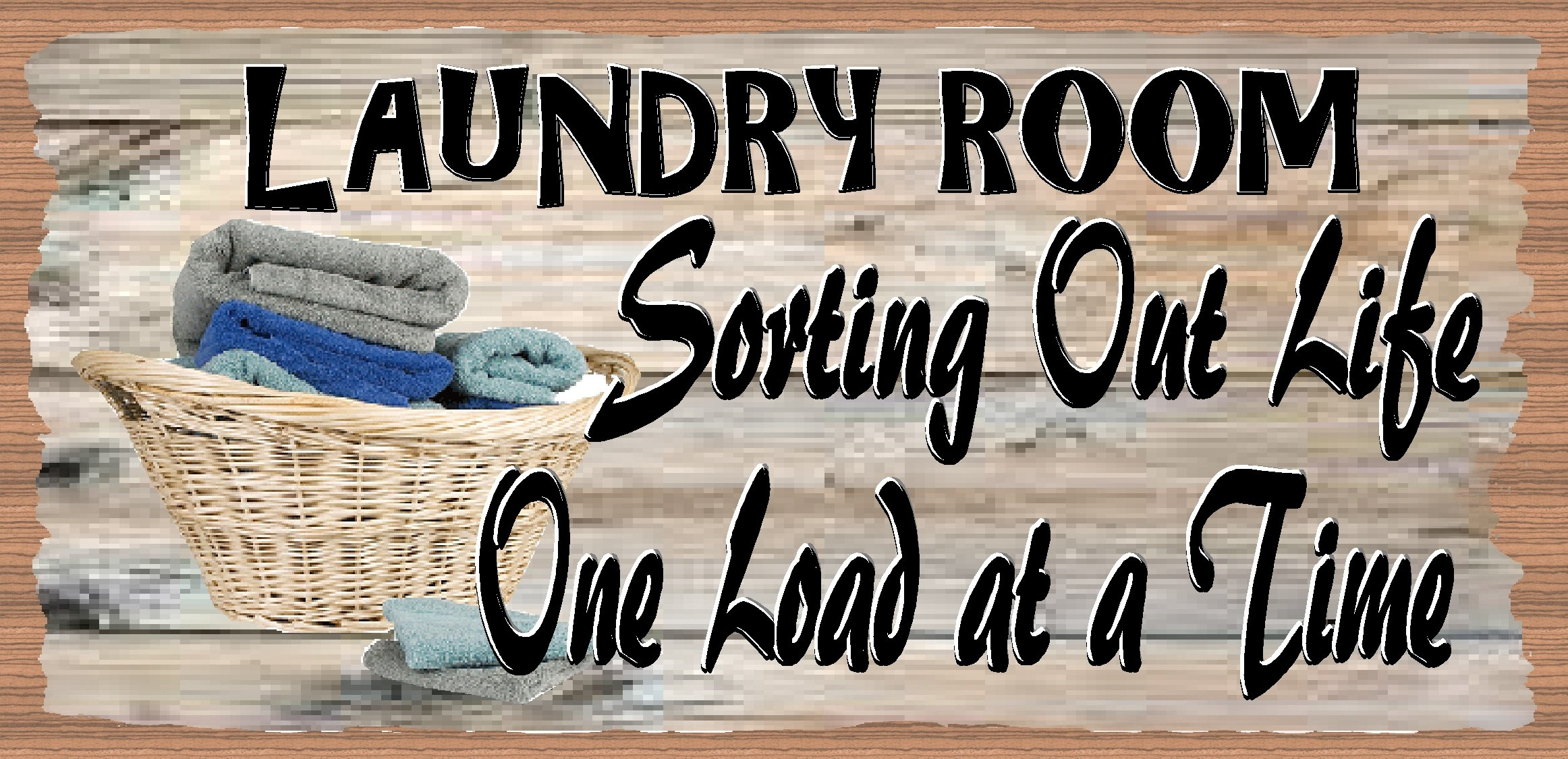 GiggleSticks Laundry Room - Laundry Sign - Laundry Plaque