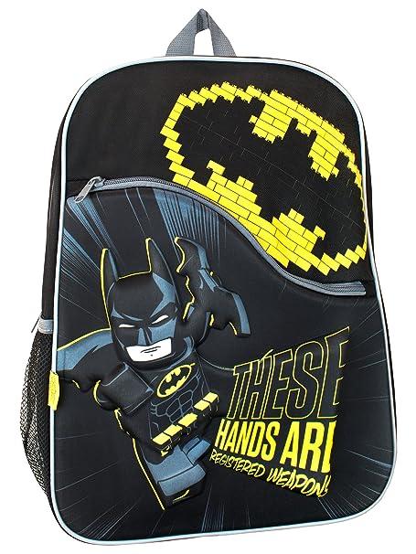 OFFICIAL BATMAN LEGO MOVIE JUNIOR BOYS KIDS BACKPACK RUCKSACK SCHOOL BAG NEW