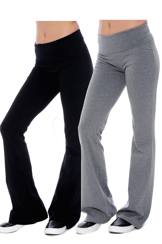 Unique Styles PANTS レディース B01BUDY9G6 Small- 3Pack|1 Grey & 2 Black 1 Grey & 2 Black Small- 3Pack