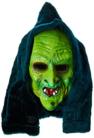 1ffdfa693 Trick or Treat Studios Men's Halloween III-Witch Mask, Multi, One Size