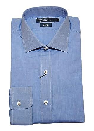 Mens Polo Solid Classic Cotton Regent Blue Ralph Dress Light Lauren 2IDWE9YH