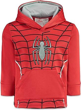 Marvel Avengers Boys Half-Zip Fleece Pullover Hoodie