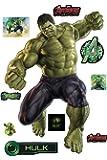 Stickersnews-Hulk Avengers Wall Stickers (28 x 40 cm - 15036