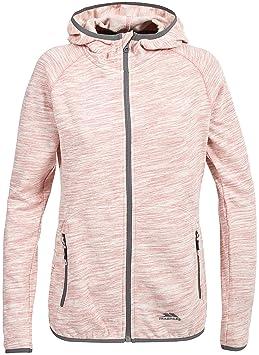 62a1298462238 Trespass Retweet Sweatshirt à Capuche Femme, Rose Chiné, FR (Taille  Fabricant : XXS