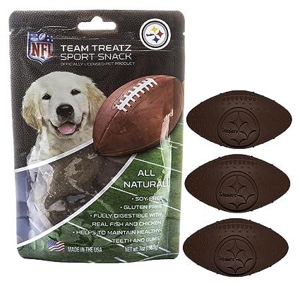 Amazon Nfl Pittsburgh Steelers Dog Food Snack Treat Bone Free