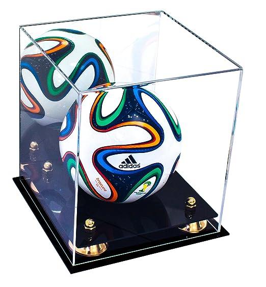 Deluxe acrílico Mini balón de fútbol pantalla funda, con ...