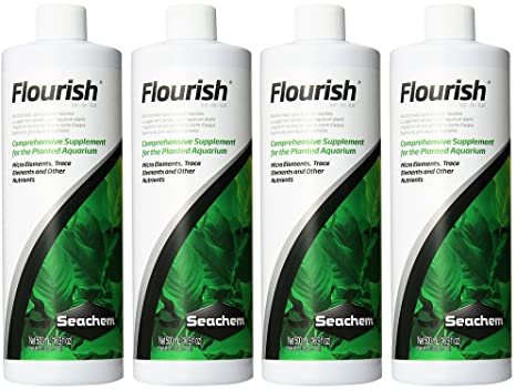 Amazon.com : (4 Pack) Seachem Flourish 500 Milliliters each : Pet Supplies