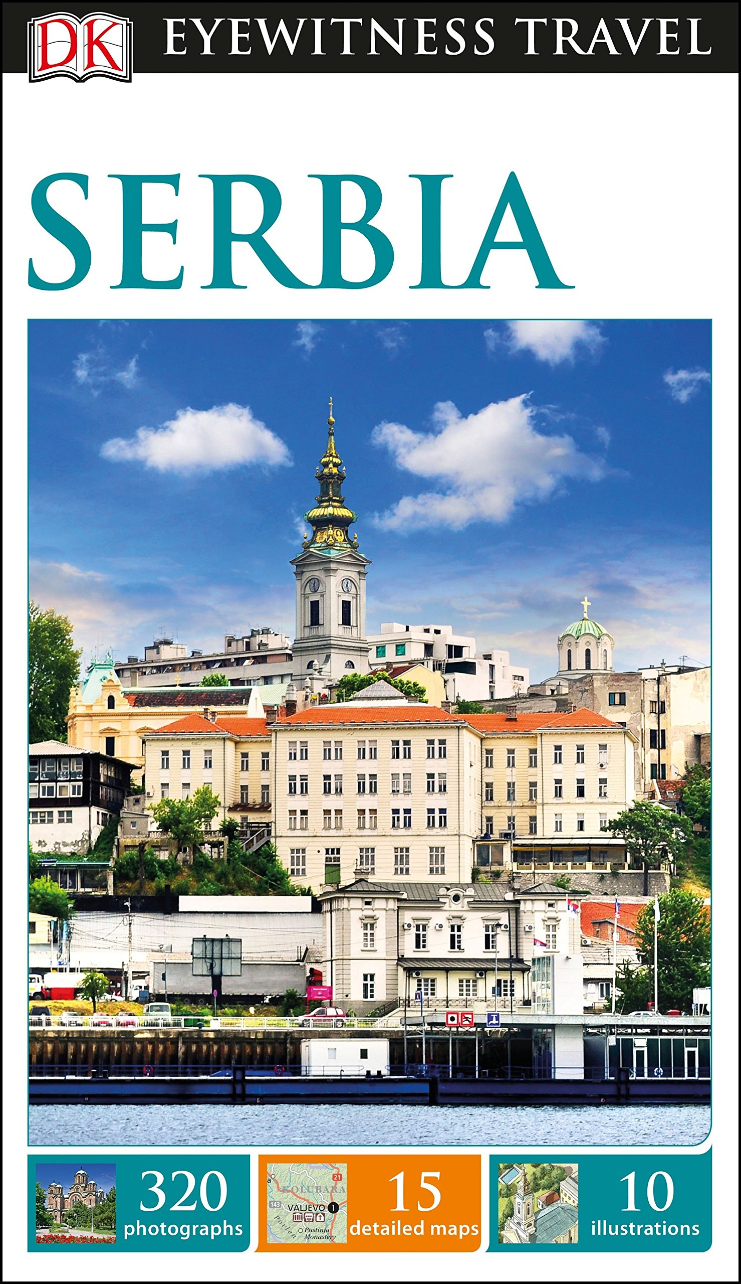 DK Eyewitness Travel Guide Serbia product image