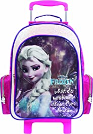 Mochila Carrinho Premium Elsa Frozen - Dermiwil