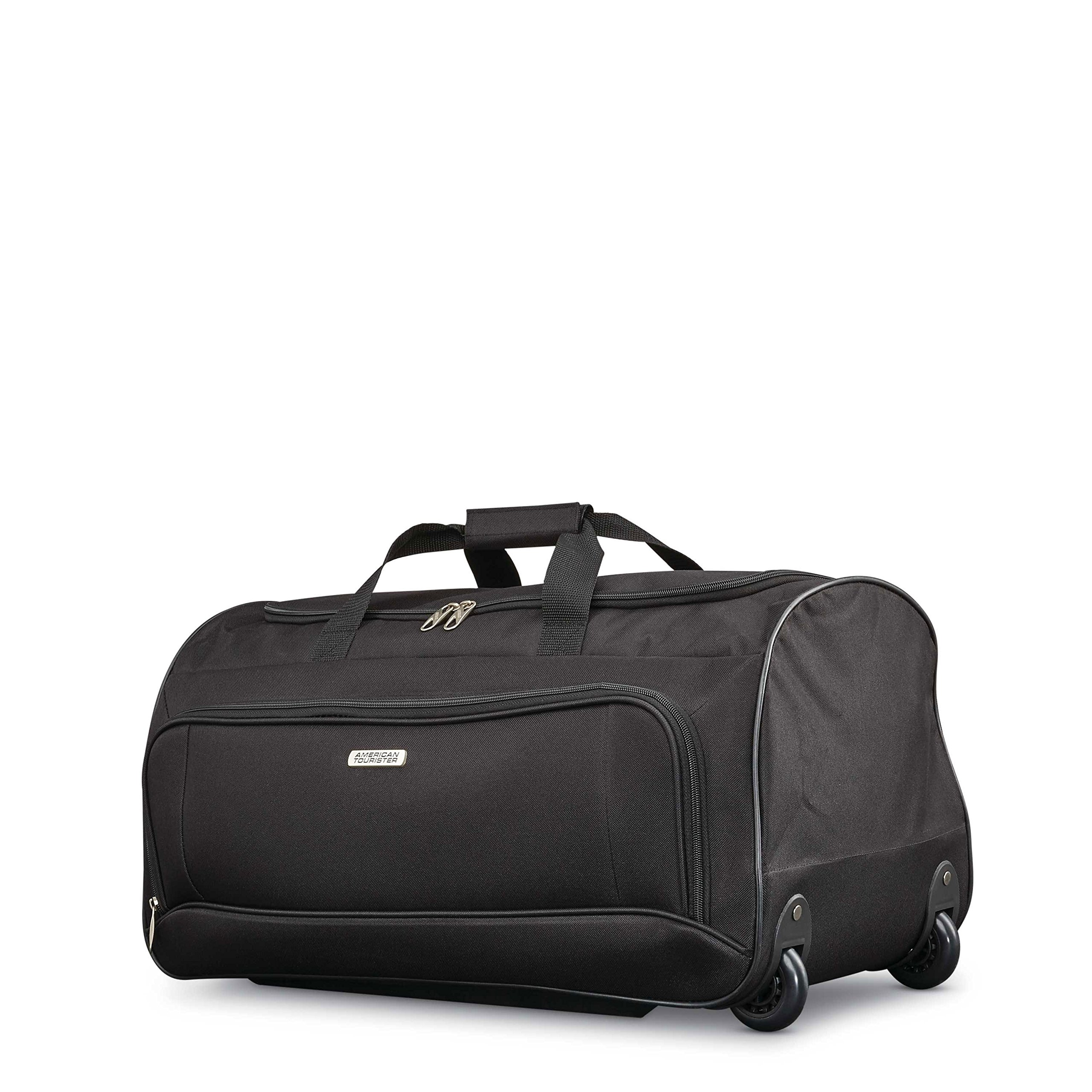 American Tourister Fieldbrook Xlt 4pc Set (Bb/Wh Dfl/ 21/25 Upright), Black by American Tourister (Image #4)