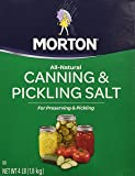 Morton Canning an Pickling Salt 4 pound box (2 pack)