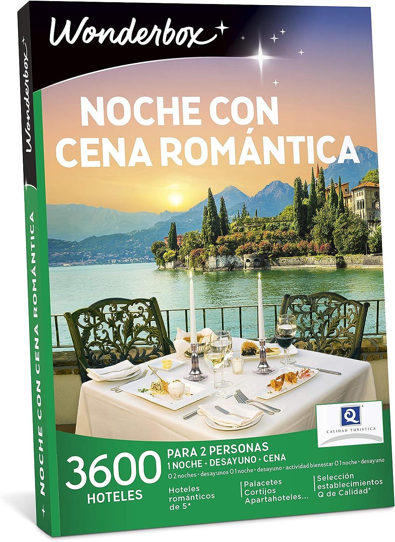 wonderbox noche con cena romantica