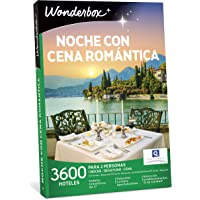 WONDERBOX - Caja Regalo para mamá - Noche con Cena ROMÁNTICA - 3.600 hoteles en España y Europa