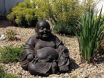 Statue Bouddha rieur Chinois 43 cm décoration zen pour intérieur ...