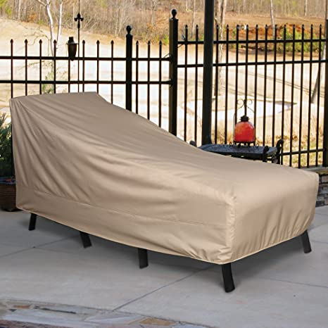 Amazon Com Sure Fit Patio Armour Ripstop Chaise Lounge Cover