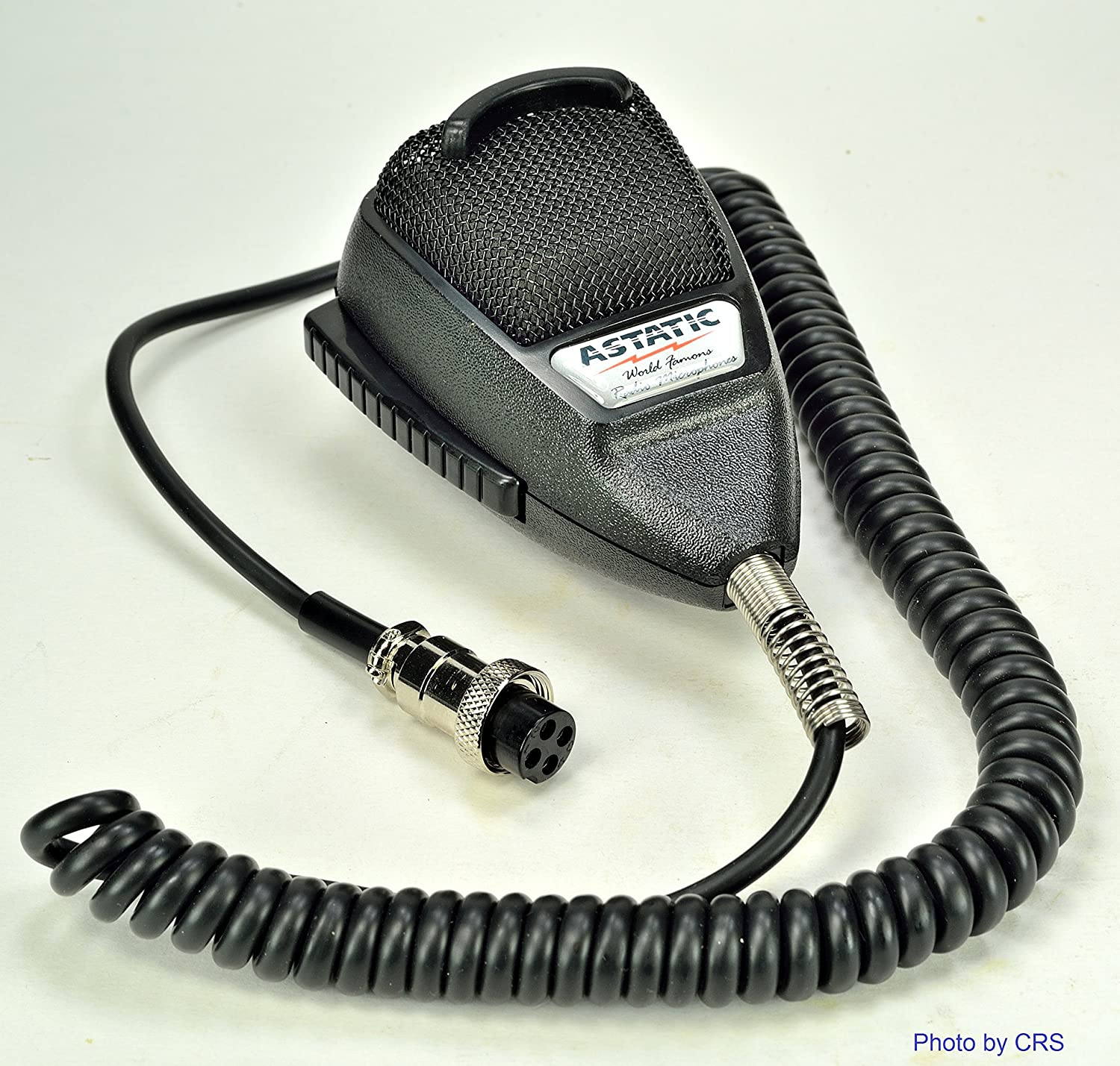 Astatic 636l Noise Canceling Mic Cb Radio 4 Pin Cobra Mixer Wiring 636lb1 Cell Phones Accessories
