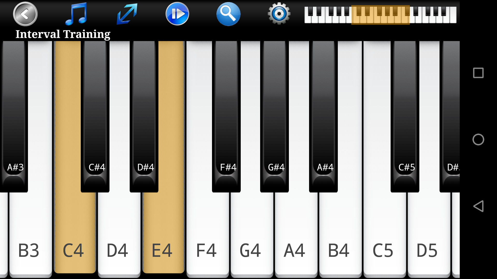 Piano Ear Training Pro: Amazon.es: Appstore para Android