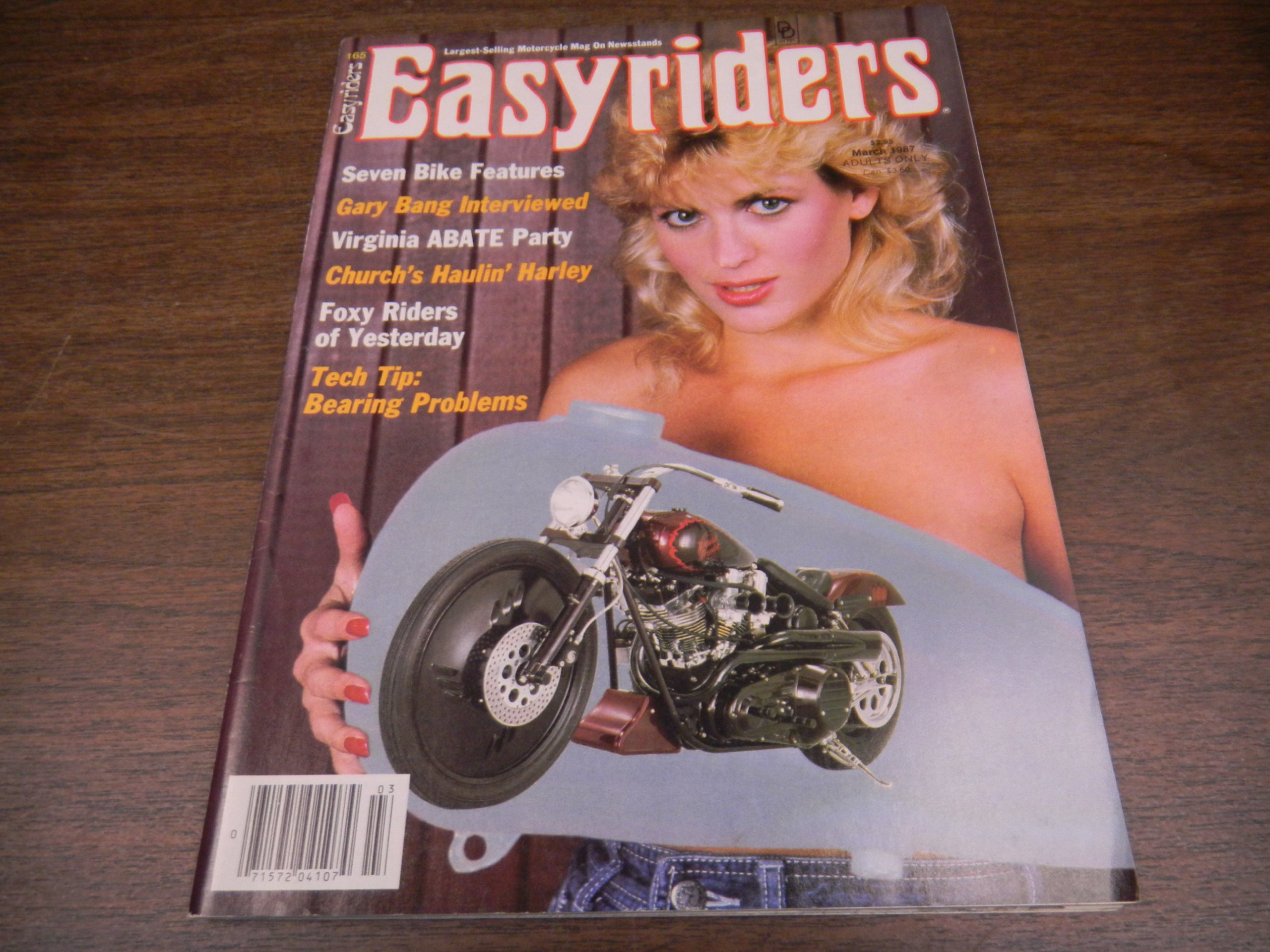 Easyriders Busty Adult Magazine