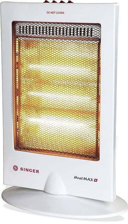 Singer Heat Max Plus 1200 Watts Halogen Room Heater Amazon In