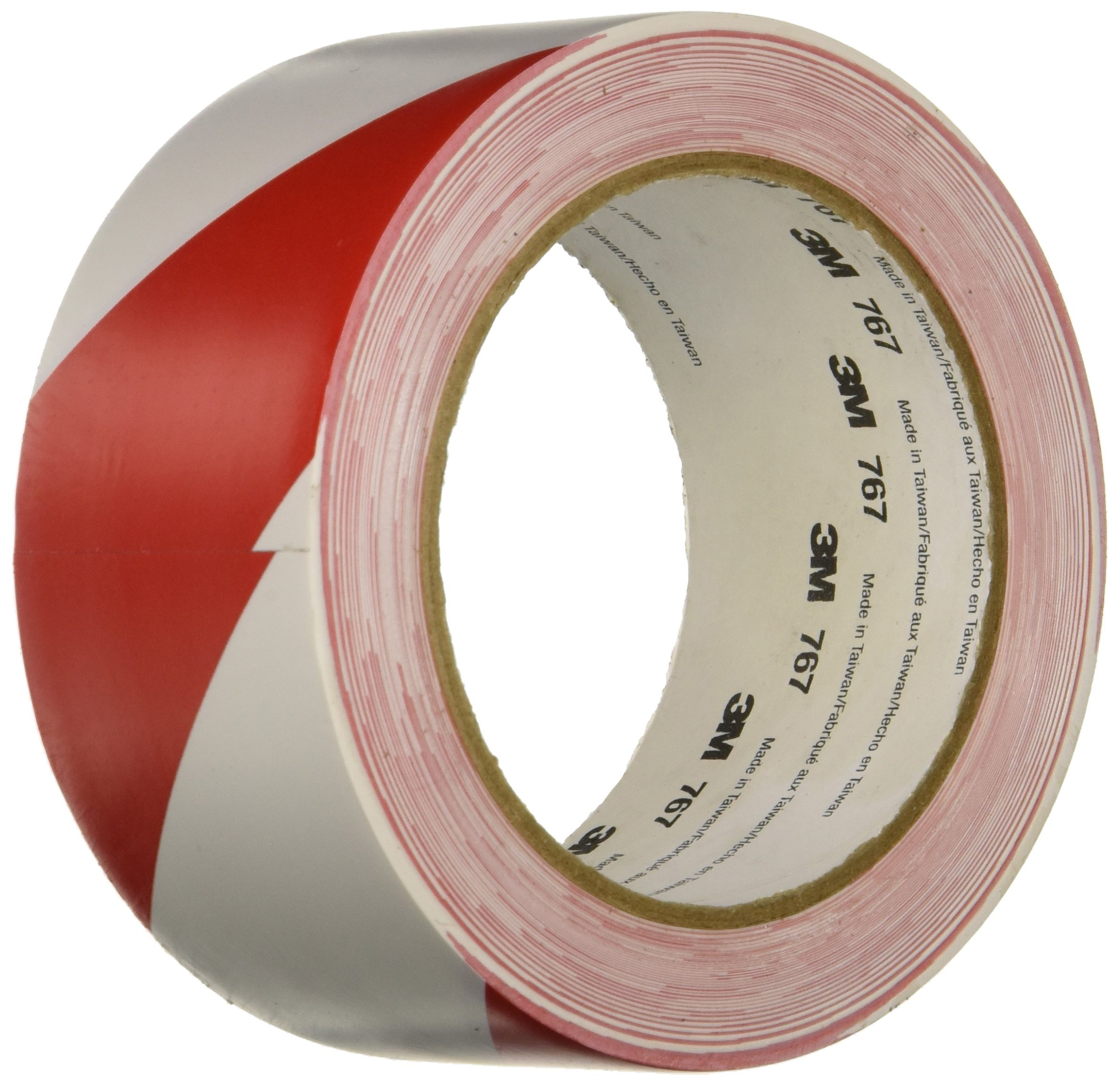 3M 767DC 2'' x 36'' Red/White Safe Stripe