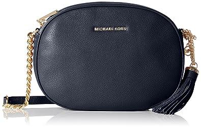 6c14d37aab97 Michael Kors Ginny Medium, Women's Cross-Body Bag, Blau (Admiral ...